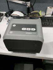 Zebra ZD420 203 dpi Thermal Transfer Label Printer Barely Used! Good shape