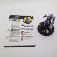 Heroclix Deadpool & X-Force set Ajax #055 Super Rare figure w/card!