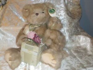 Plush Stuffed Bear with ring Box