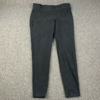 EXPRESS BLACK STRETCH TAPERED YOGA LEGGING PANTS SIZE MEDIUM EUC