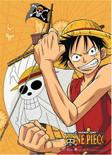New Officially Licensed One Piece Luffy Fabric Poster Wall Scroll (GE-77691)
