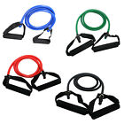 Exercise Resistance Bands Set Yoga Fitness Workout Stretch Heavy Duty Tubes H2J1