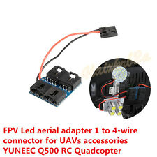 FPV Led aerial adapter 1 to 4-wire connector for UAVs accessories YUNEEC Q500