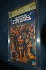 Heroes in Crisis #1 CBCS 9.8 SS Signed Tom King and Clay Mann Rebirth CGC