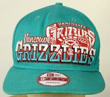 Vancouver Grizzlies embroidered baseball hat cap snapback 9fifty Hardwood