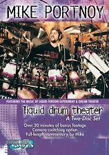 Mike Portnoy - Liquid Drum Theater - 2 Disc Drum DVD BRAND NEW RETAIL SET