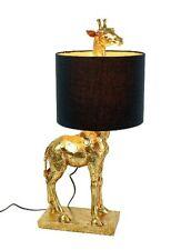Tischleuchte Giraffe 70 cm gold Tisch Lampe Deko Modern Midcentury Design