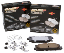 Disc Brake Pad Set-PREMIUM CERAMIC PADS Front Dash 4 Brake CFD1404