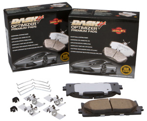 Disc Brake Pad Set-Premium Ceramic Pads Front fits 06-13 Suzuki Grand Vitara