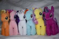 My Little Pony Plush Horse Unicorn Soft Toy 18cm Single or Set of 6