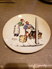 """New listing 1979 Norman Rockwell Limited Edition Gorham Summer Swatter's Rights, 10 3/4"""""""