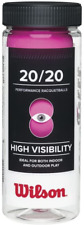 Wilson 20/20 Racquetball 3 Ball Can, Pink