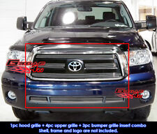 Fits Toyota Tundra Billet Grill Combo 10-11