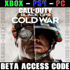 Call of Duty COD : Black Ops Cold War BETAS / EARLY ACCESS CODE (PS4, XBOX, PC)
