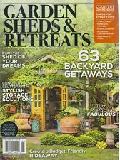 Garden Sheds & Retreats 2019 Back by Popular Demand Country Gardens