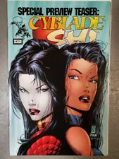 Cyblade Shi Special Preview Issue, 1st App Witchblade, Silvestri, NM  9.4