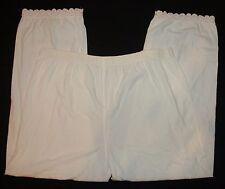 Pantaloni Donna tg. M occhiello finiture in pizzo lingerie intimo Sottomaglia