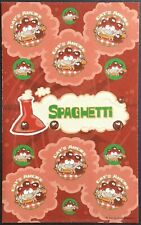 Dr. Stinky's Scratch & Sniff Stickers - Spaghetti - Excellent!!