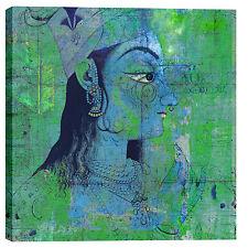 "Epic Graffiti ""Classic Krishna"" by Elena Ray Giclee Canvas Wall Art, 37"" x 37"""