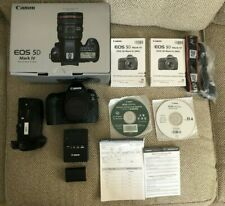 Canon EOS 5D Mark IV 30.4MP Digital SLR Camera Body + Battery Grip BUNDLE