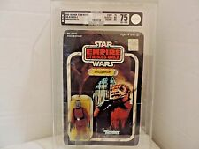 Vintage Star Wars ESB Red Snaggletooth Original 41 Back Action Figure AFA 75