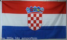Big 1.5 Metre Croatian Large New Flag 3x5ft Republika Hrvatska Croatia