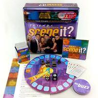 Friends Scene It Deluxe Edition Board Game DVD Trivia Complete In Tin Box 2005