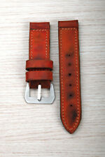 Correa-Strap Leather for Panerai Watch 26mm 155x90 with Buckle (Vintage)