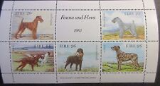 Ireland 1983 Irish Dogs (Fauna & Flora) Mini Sheet. MNH.