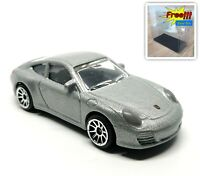 Majorette Porsche 911 Carrera Silver Diecast 1/64 209E no Package Free Show Box