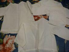 lot layette 4brassiéres coton blanc bébé ou gros poupon celluloid ans 50-60