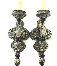 OFFERS WELCOME!!  Re-Wired  Pair E. F. Caldwell  Sconces Powel Crosley Estate