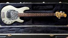 Ernie Ball MusicMan StingRay Bass Custom Classic 4 Rare Metallic Gun Metal Grey