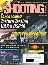Shooting Times 1994 RUGER MINI THIRTY&SKS Daytime Lasers SCOPES Dot Sight PISTOL