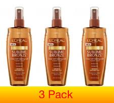 L'Oreal Sublime Bronze Sun Splash Clear Self-Tanning Gel -3 Bottles 150ml Each