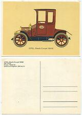 35403 - Opel Stadt-Coupé 1908 - alte Ansichtskarte