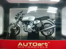 WOW EXTREMELY RARE Ducati GT 1000 Silver #12547 1:12 Auto Art-Minichamps-Wit's