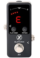 Guitarx X9 - Guitar Tuner Pedal Mini - Chromatic with Pitch Calibration - Also -