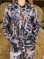 Ladies Hunting Soft Shell Jumper Realtree Style Pattern Brand New Medium Size 10