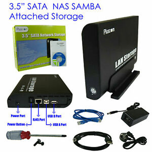 "USB 3.0 SATA 3.5"" NAS Caddy Personal Drive Cloud HDD Single-Bay Network Storage"