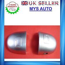 RENAULT Megane Scenic door handle cover grey door lock cover silver left side X2