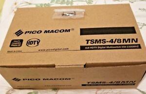 New Starchoice 4x8 Pico Macom Quad Multiswitch Shaw Direct Star Choice TSMS-4/8