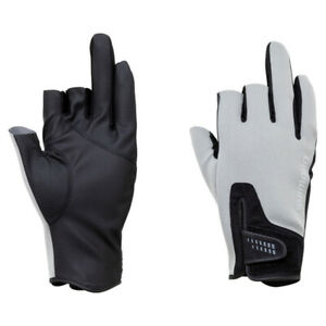 SHIMANO Gloves GL-091Q Cold Protection Pearl Fit 3 Pieces Cut From JAPAN New