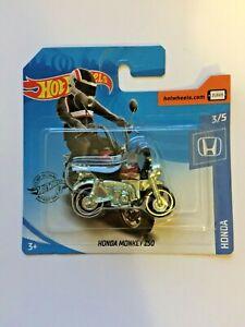 Hot Wheels Honda Monkey Z50 , Honda, 2020 Short Card, 3/5. Brand New