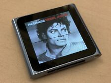 Apple Ipod Nano 6th Generation Blue (Working with screen line issue)