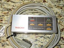 TASCAM RC-71 Same as TEAC RC-70 REFURBED A-3440 Guaranteed, New Strain Relief