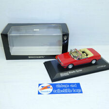 Minichamps 1:43 | Maserati Biturbo Spyder 1986 - Red Limited 3024 pcs 400123530