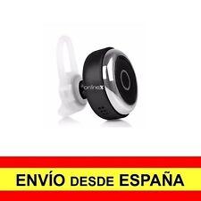 Mini Auricular Bluetooth 4.1 Botón Manos Libres Micrófono Batería NEGRO a2784