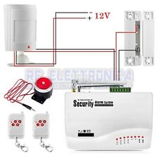 Wired PIR Infrared Motion Detection Detector Sensor Alarm for Home Security GSM