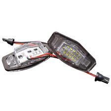 2x18 LED License Plate Number Lights Car Lamp for Honda Jazz Odyssey Stream CR-V